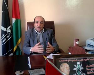 لؤي القريوتي مسؤول الجبهة الشعبية لتحرير فلسطين القيادة العامة في قطاع غزة