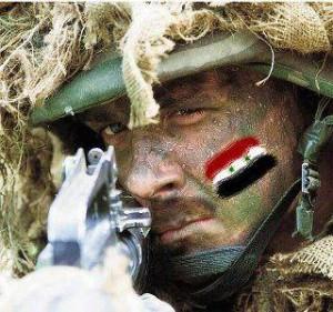 جندي بالجيش العربي السوري