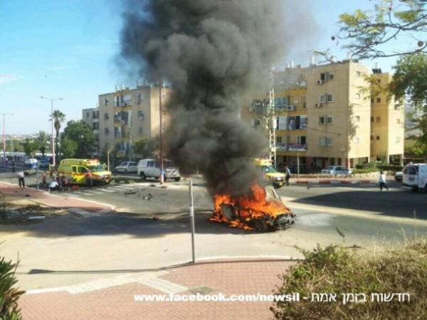 مقتل إسرائيلي وإصابة آخر بجراح بالغة الخطورة في انفجار سيارة مفخخة في مدينة عسقلان3