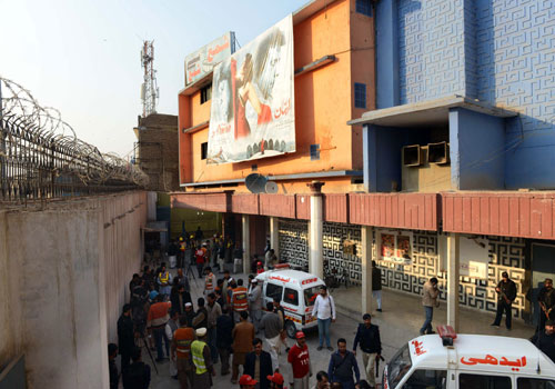 على سينما للافلام الاباحية في باكستان
