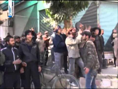 LBCI News-مصالحة بين النظام ومسلحي المعارضة في بلدة ببيلا بريف دمشق