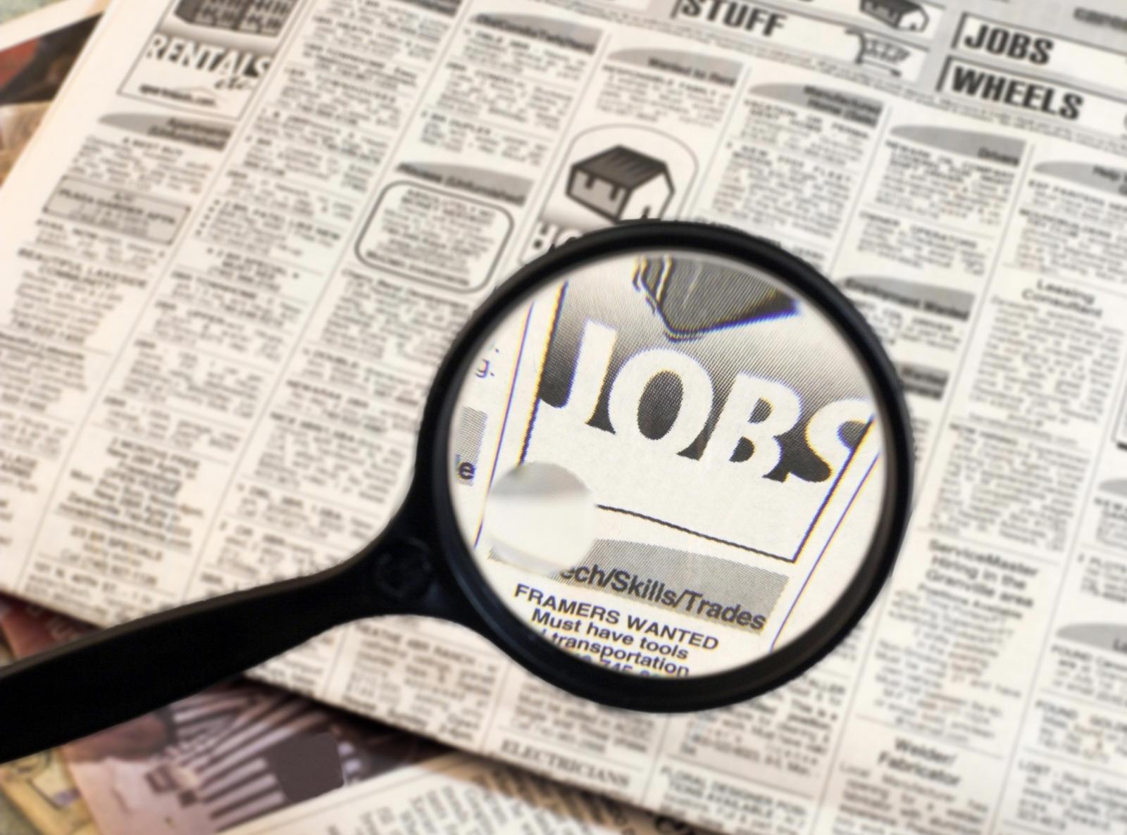 البحث عن الوظائف