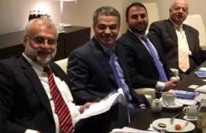 وفد البنك العربي الاسلامي