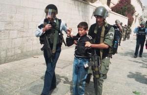 الاحتلال الصهيوني يعتقل الاطفال