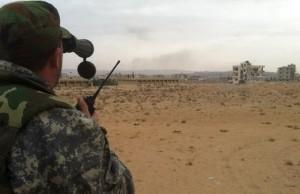 الجيش السوري يسيطر على حقل الشاعر