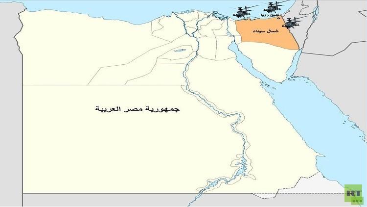 مقتل 25 مسلحا من انصار بيت المقدس بقصف جوي للجيش المصري في الشيخ زويد شمال سيناء