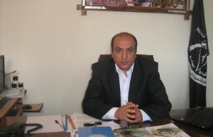 المهندس لؤي القريوتي مسؤول الجبهة في قطاع غزة