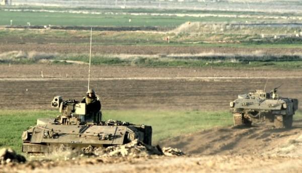 توغل الاحتلال دبابات في غزة