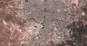 خريطة مدينة الباب السورية