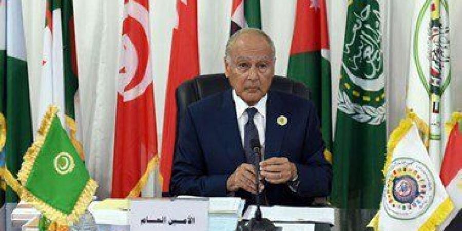 احمد ابوالغيط الامين العام للجامعة العربية
