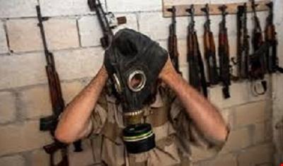 داعش تستخدم الغاز الكيماوي ضد المسلحين
