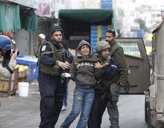 كيان العدو الصهيوني يعتقل المزيد من الاسرى الأطفال