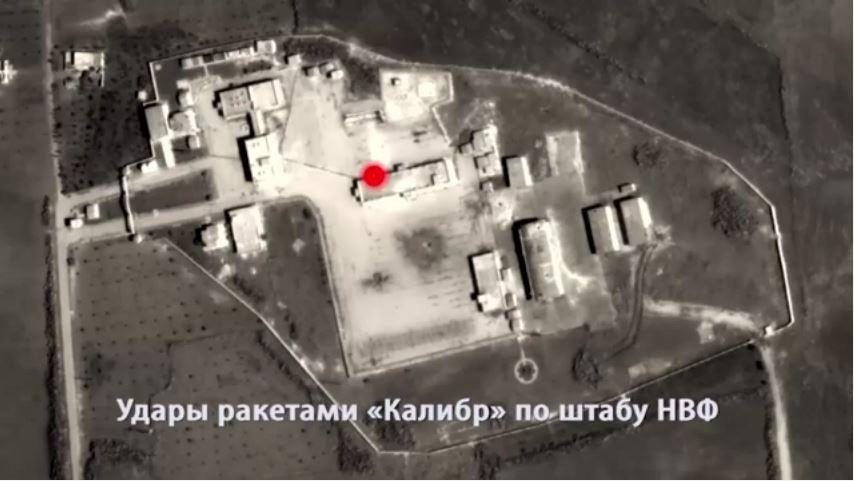 القوات الروسية تستهدف مواقع التنظيمات الارهابية في سوريا وتبدأ عملية واسعة النطاق