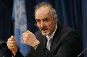 بشار الجعفري الممثل الدائم للجمهورية العربية السورية في مجلس الأمن