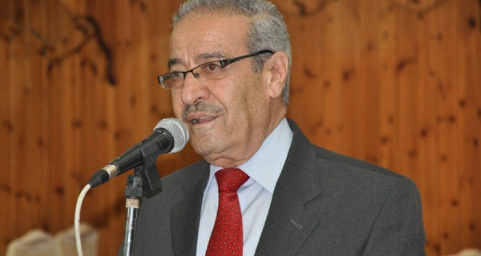 عضو اللجنة التنفيذية لمنظمة التحرير تيسير خالد